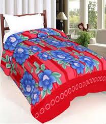 Blankets - Buy Electric Blankets, Quilts & Dohars Online at Best ... & IWS Printed Single Blanket Multicolor Adamdwight.com