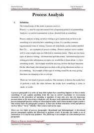 process essay example how to write a process analysis essay view larger