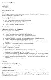 Physical Therapist Assistant Cover Letters Good Massage Therapist