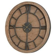 rustic wall clock large wooden round rustic wall clock large rustic wood wall clocks