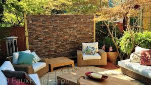 10 of the best outdoor accent wall ideas