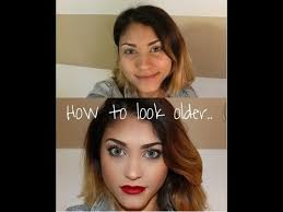 want to look makeup look and how to look older tutorials mosspink