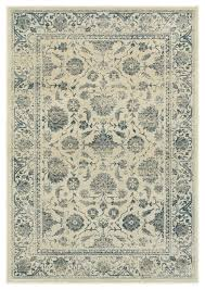 oriental weavers linden ivory blue oriental 7909a area rug runner 2 3