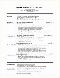 10 11 Very Simple Resume Template Elainegalindocom