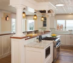Wainscoting Kitchen Backsplash Backsplash Kitchen Beach Style With Cornices Moldings Contemporary