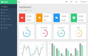 tamplate latest free bootstrap dashboard html5 admin templates