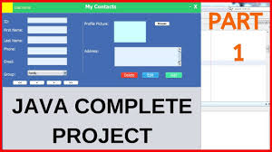 Java Project Design Example Java Complete Project For Beginners With Source Code Part 1 2