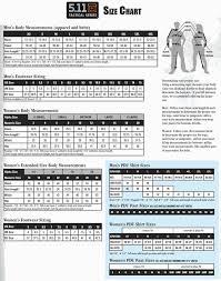 511 Tdu Pants Size Chart 16 Correct 5 11 Sizing Chart Jackets