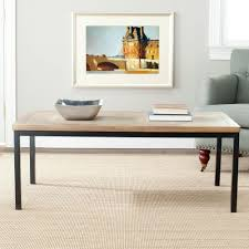 safavieh dennis oak coffee table