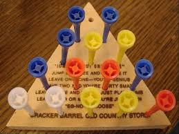 Wooden Triangle Peg Game Cory Gross Recreating the Peg Game at Cracker Barrel in HTML100 20