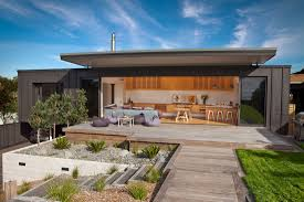 Small Picture Screened by Pohutukawa Stage One Architecture Bureau Archipro
