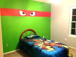 Ninja Turtle Bedroom Set Teenage Mutant Turtles For Kids Toddler Tur