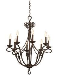 vine 8 light chandelier