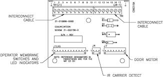tp 821558 001a vat 23gx installation guide figure 6 5 wiring diagram overhead customer unit to upsend operator unit