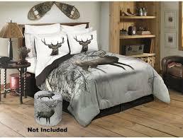 deer woods tree bedding bedroom decor