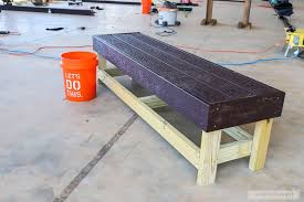 easiest diy bench ever the house of wood