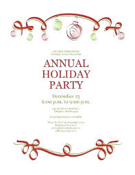 Invitation Free Templates Great Holiday Party Invitation Free Templates Gallery