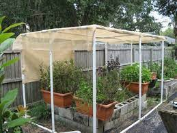 diy greenhouse pvc shade cover for