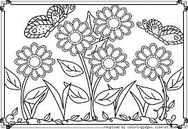 Flower Coloring Pages To Print Flower Coloring Pages To Print