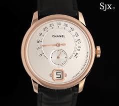 up close the monsieur de chanel the in house retrograde monsieur de chanel 1