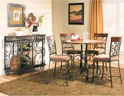 delightful kitchenette table set 29 dinette counter height with round