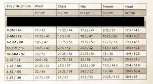 Sizing Chart The Wild Bambino