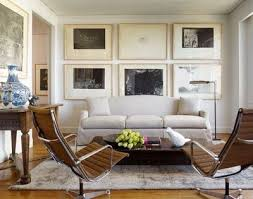 old modern furniture. I Like The Use Of Space Behind Couch. It Brings Attention To Old Modern Furniture