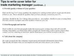 Cover Letter For Marketing Position Sample Marketing Cover Letter ...