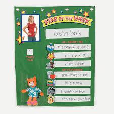 Star Student Pocket Chart Student Of The Week Pocket Chart Orientaltrading Com