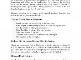 Objective Part Of Resume Cv Ideas Sample Stunning Design 16