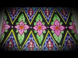 Motif batik yang mudah digambar untuk anak sma. Menggambar Batik Motif Bunga Mudah Lho Youtube