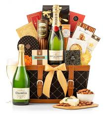 chagne gift baskets for the love of chagne