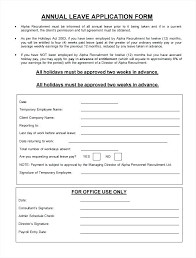 Holiday Request Form Impressive Employee Leave Request Form Template In Excel Sick Annual
