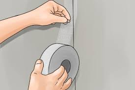 Image result for scrim tape in use