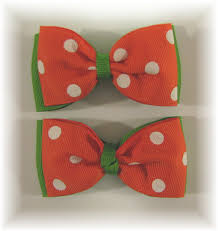 ribbon ends bow tie hair bow