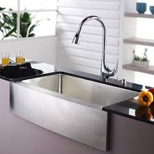 28 Inch Stainless Steel Kitchen Sink  BellacorStainless Steel Farmhouse Kitchen Sinks