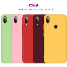 Matte <b>Candy Color Silicone TPU</b> Case For Xiaomi Redmi Note 7 6 5 ...