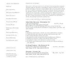 Car Sales Resume Template – Mklaw