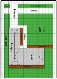 Small Picture How to Draw the Property For Lawn Sprinklers Irrigation Systems
