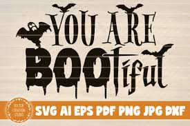Check out our boo tiful svg selection for the very best in unique or custom, handmade pieces from our collage shops. You Are Boo Tiful Halloween Graphic By Vectorcreationstudio Creative Fabrica