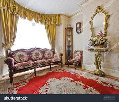 living room antique furniture. Living Room Of A Victorian House With Antique Furniture