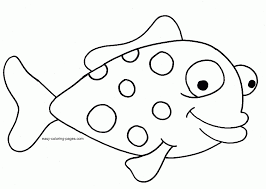 Print out these 5 pages of florida fish to color and enjoy. Simple Fish Coloring Pages Coloring Home