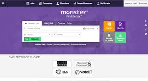 recruitment websites to help you your dream job image via monster monster is also one of the largest job recruitment websites