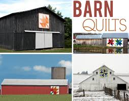 Quilt Inspiration: Barn Quilts - Art Gallery Fabrics - The ... & Barn quilts have been part of American history for decades. They are  painted quilt squares, usually fashioned on boards and then mounted on a  barn or other ... Adamdwight.com