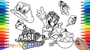 How To Draw Super Mario Bargain Bowser Jr Coloring Pages Super Mario