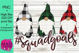 With this free easter gnomes svg pack, you will get six gnomes. Squad Goals Christmas Gnome Plaid In 2020 Christmas Gnome Clip Art Freebies Mad Design
