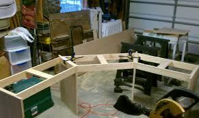 build corner desk