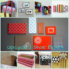 Upcycled Wall Art Upcycled Shoe Boxes I Love The Painted Tops For Wall Decor Trying
