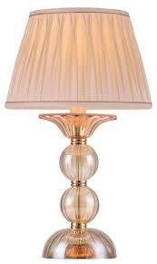 <b>Настольная лампа Crystal</b> Lux Dream LG1, 60 Вт — купить по ...
