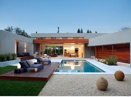 Feng Shui Backyard with small pool
